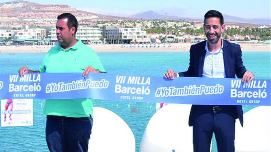 Todo a punto para la VII Milla Barceló Hotel Group Caleta de Fuste