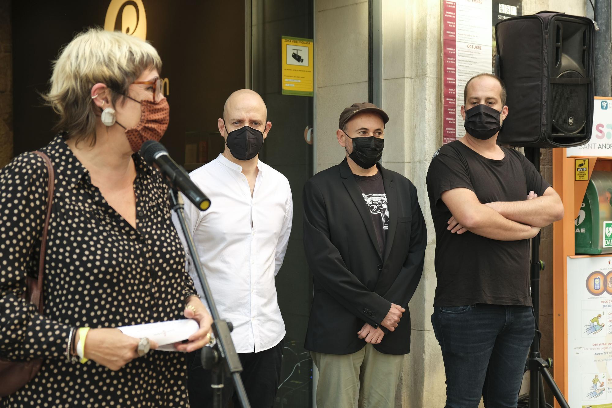 Acte d'entrega del Gaudí rebut per «7 raons per fugir»