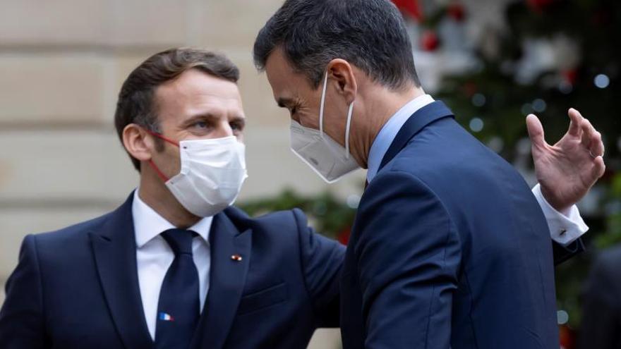 Pedro Sánchez, en cuarentena hasta Nochebuena tras su reunión con Macron