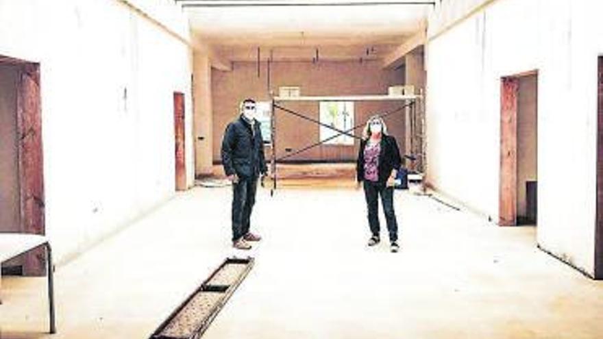 El centro sociocultural de La Graciosa se finaliza en cuatro meses y por 174.198 euros