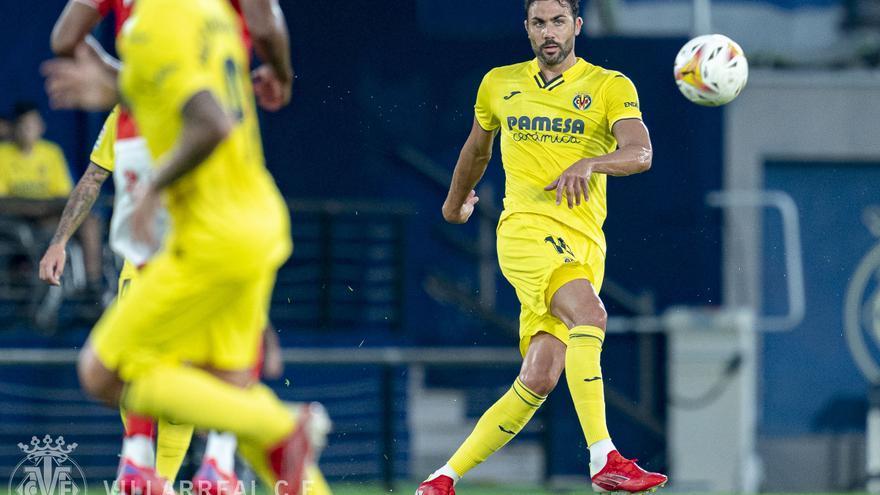 Iborra vuelve a sonreír en el Villarreal ocho meses después