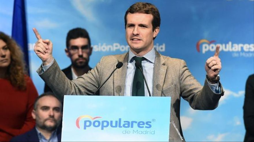"""Casado: """"Una vez mas el Partido Popular ha evitado la ruptura de España"""""""