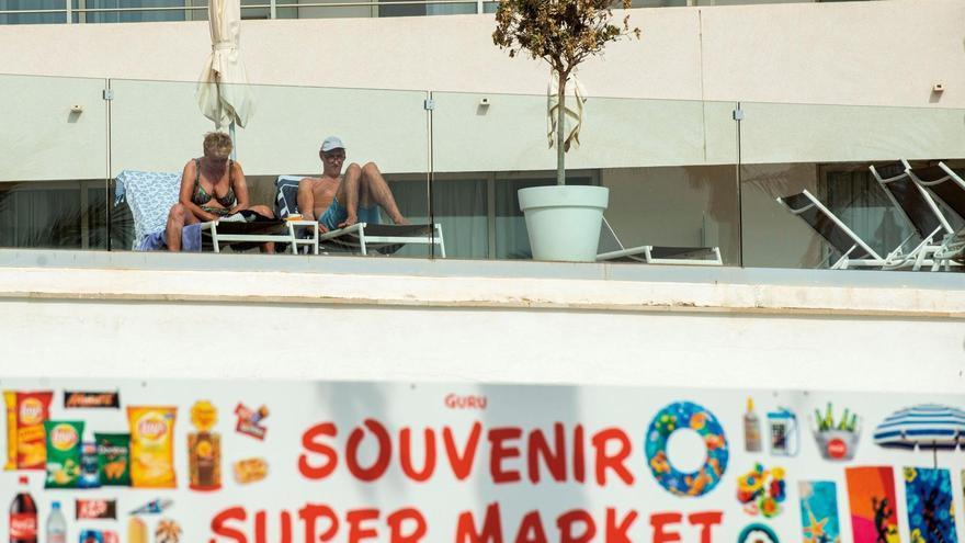 Los turistas vuelven a disfrutar de Mallorca.