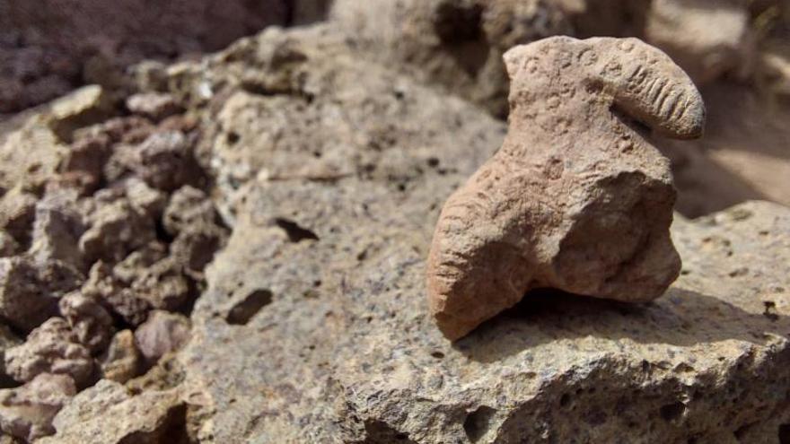 El yacimiento de La Fortaleza muestra el viernes una decena de hallazgos