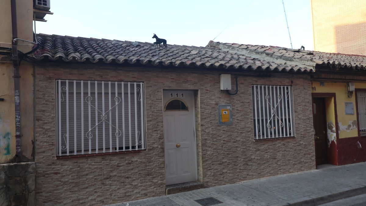 Los hechos investigados tuvieron lugar en esta vivienda de Zaragoza.