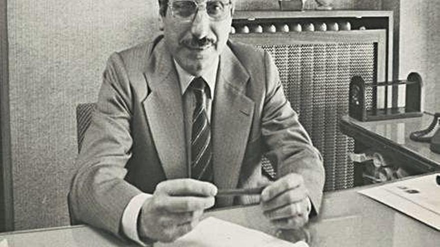 Mor Joaquim Vila, president del GEiEG entre 1980 i 1983