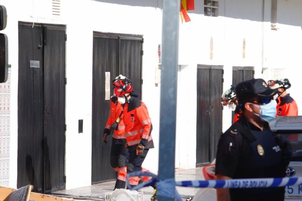 Una británica fallece en Vélez-Málaga por una deflagración de gas