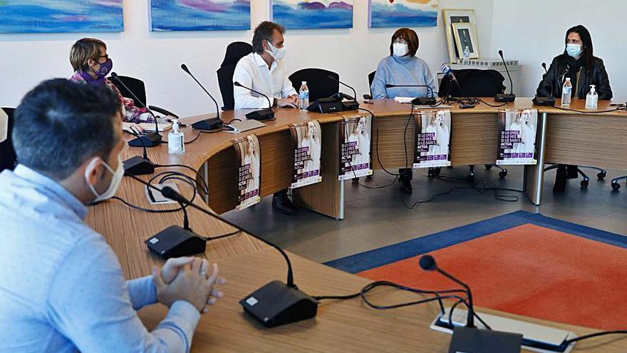 La comarca impulsa una campaña virtual para el 25N