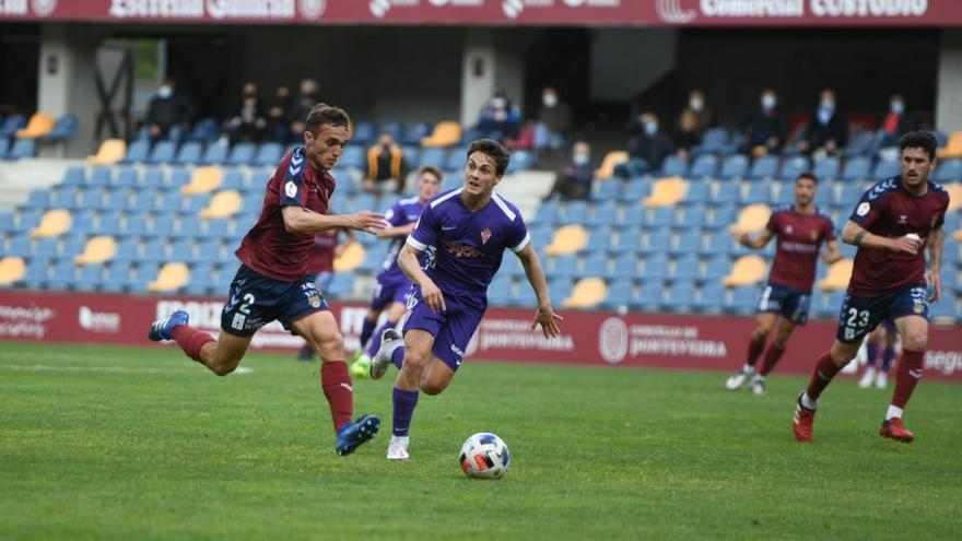 Derrota peligrosa del Pontevedra ante el Sporting B