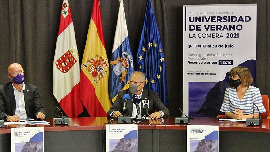 La nueva edición de la Universidad de Verano de La Gomera arranca el 9 de julio