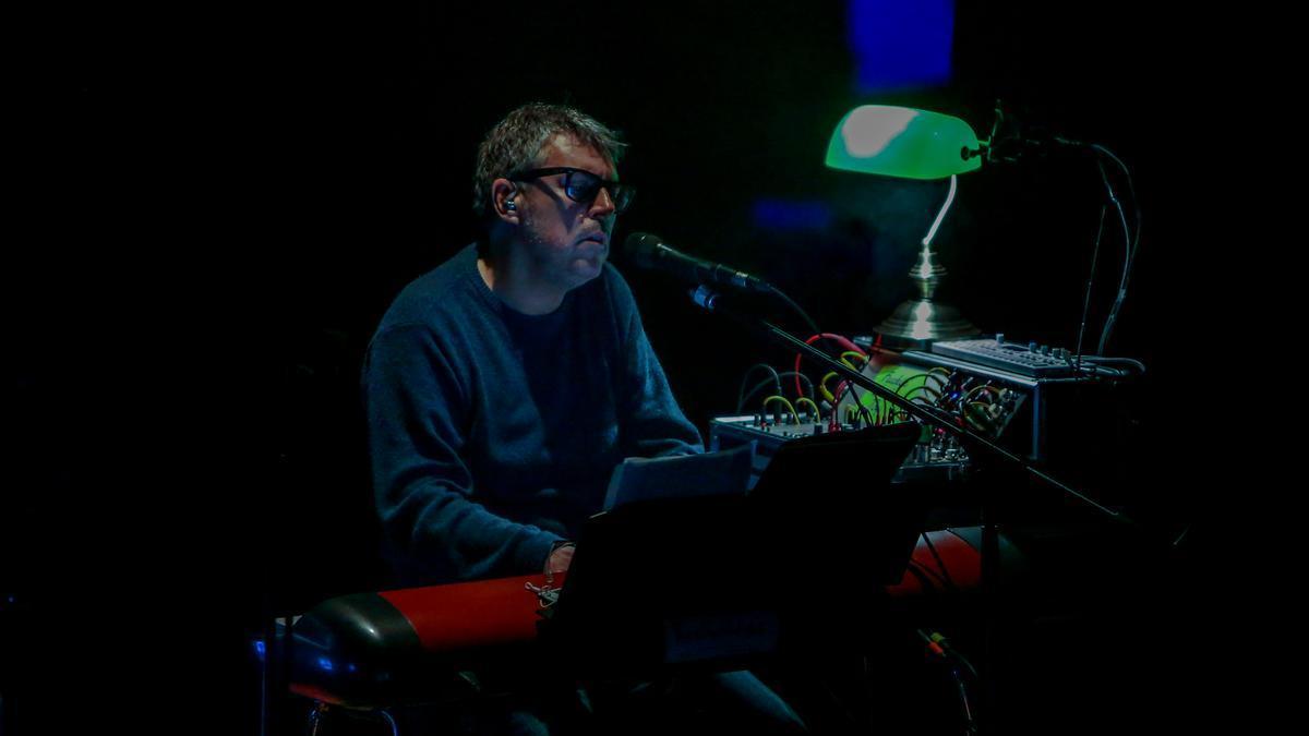 Iván Ferreiro, en un concierto.