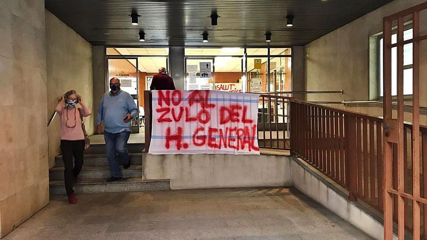 Recogen 1.600 firmas contra el traslado del Carmen al Hospital General