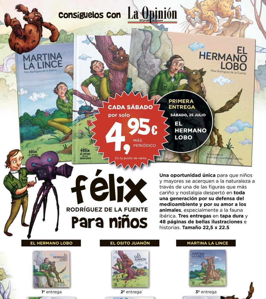 Cuentos de Félix Rodríguez de la Fuente