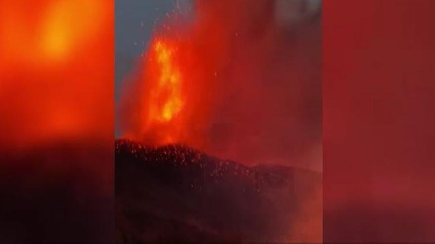 Volcán en La Palma: Surge una nueva boca de la erupción en El Paso