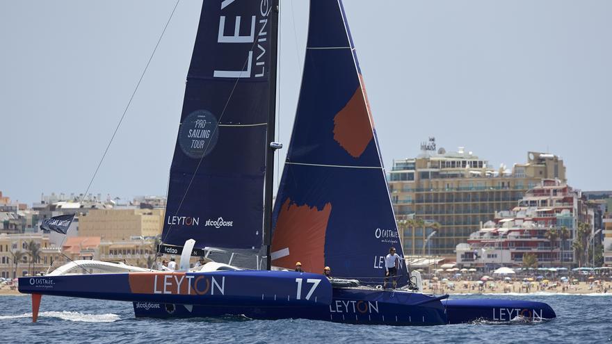 Leyton de Sam Goodchild, vencedor del Pro Sailing Tour