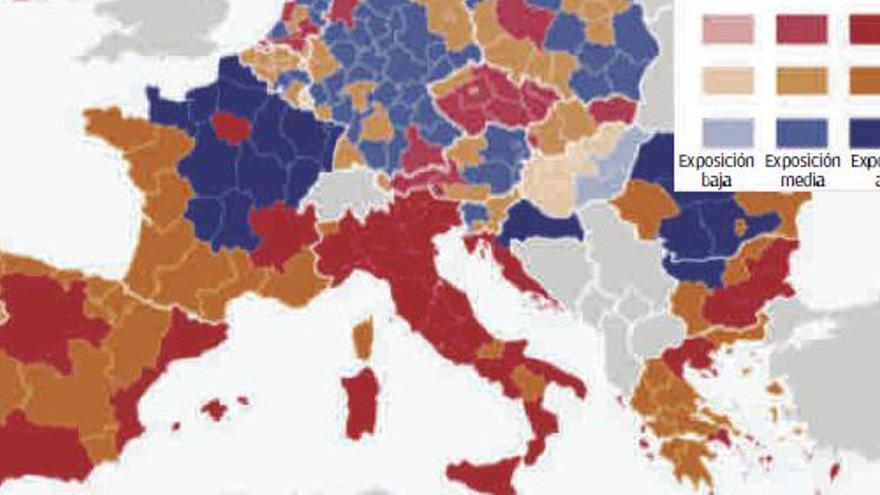 Baleares, entre las regiones de Europa más sensibles al impacto económico de la covid