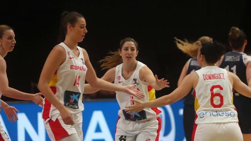 España - Eslovaquia del Eurobasket femenino