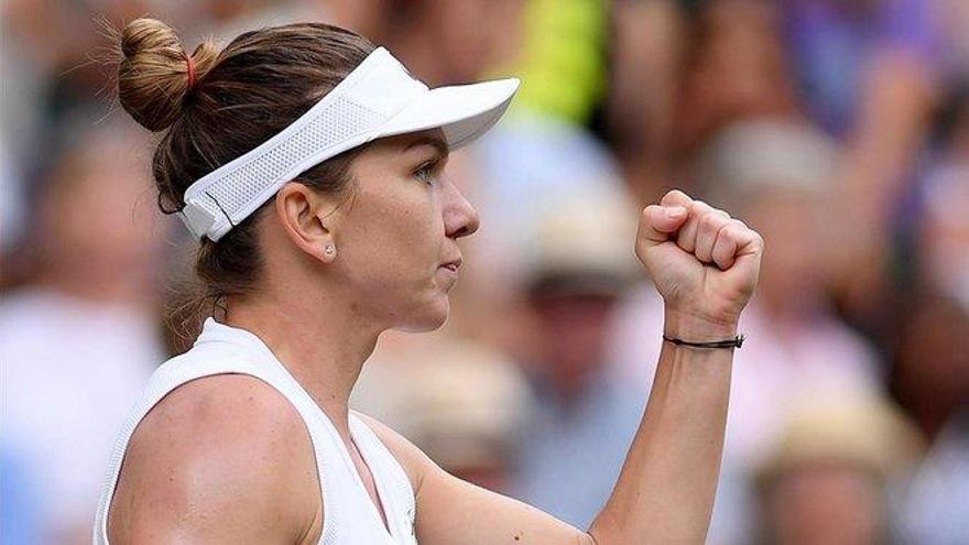 Halep arrebata la gloria a Serena Williams en Wimbledon