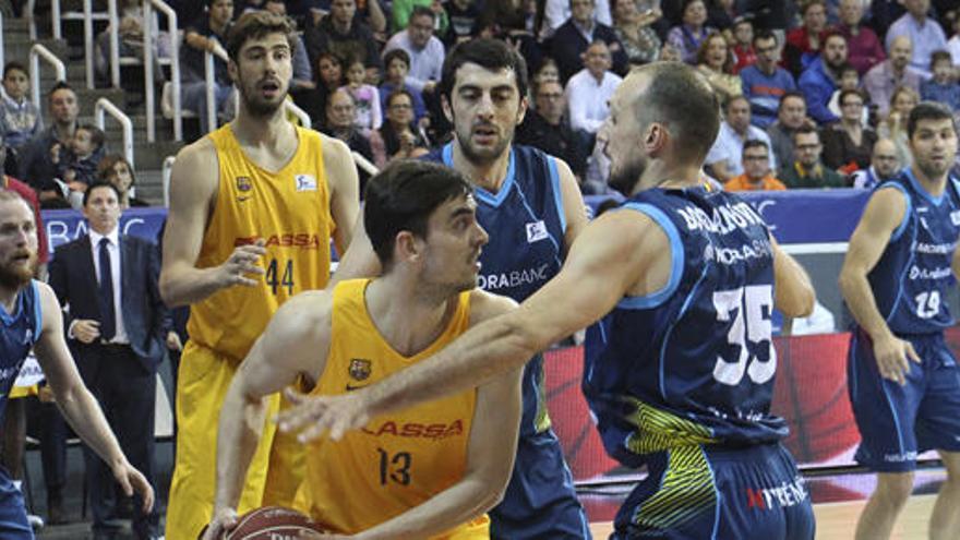 El Barcelona Lassa se impone con facilidad al MoraBanc