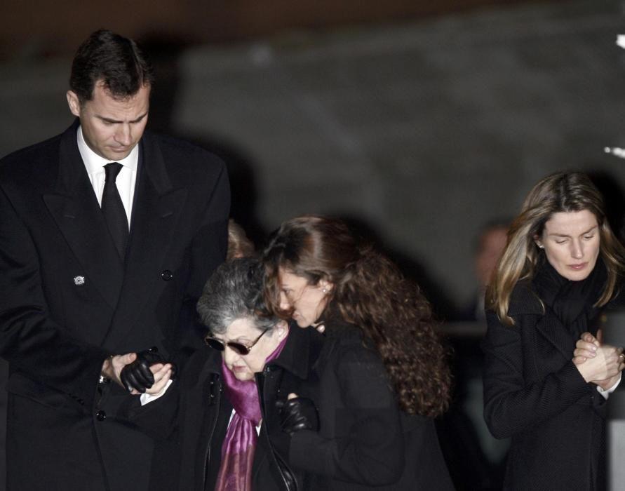 El funeral de Erika