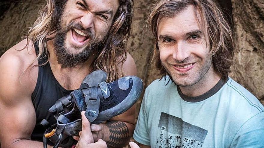 Jason Momoa rodará en Mallorca para HBO un 'reality' sobre escalada