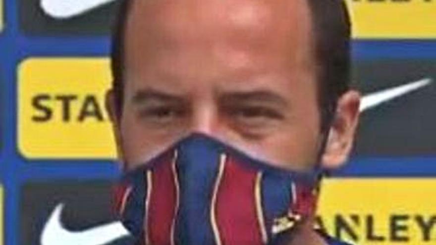 Lluís Cortès i Vicky Losada rebaixen la tensió al Barça