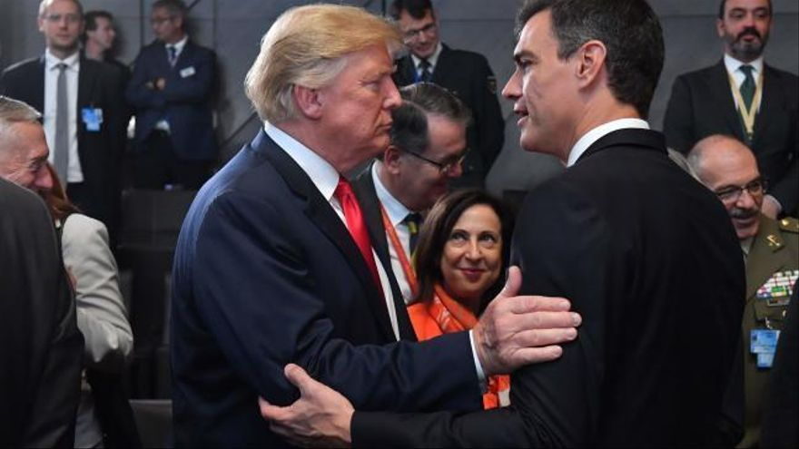 Sánchez entiende que Trump pida más gasto militar