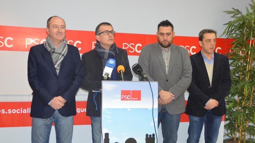 """El PSC de Figueres augura que l'única opció de CiU i Marta Felip és """"pactar amb la dreta"""""""