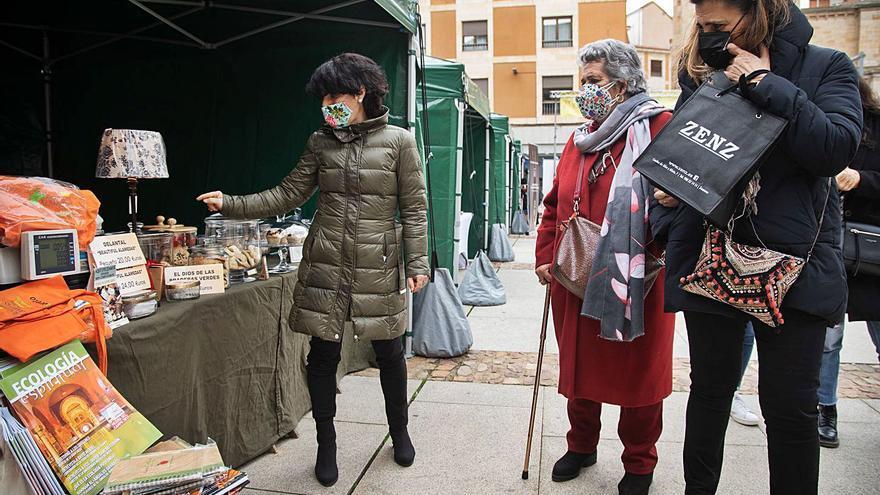 El Mercado Ecológico celebra una nueva edición en Zamora