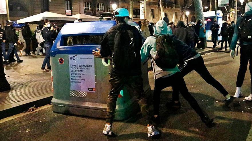Els CDRs tornen a Via Laietana un any després de la sentència del procés