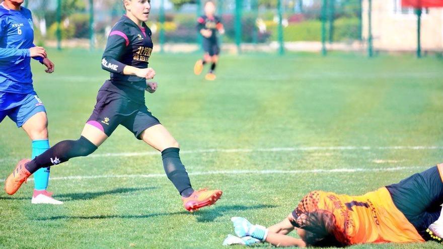 Vero Boquete estrena su cuenta goleadora en Beijing
