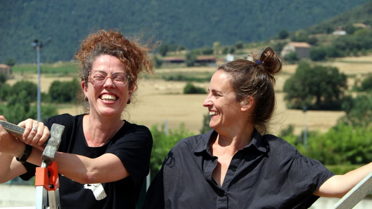 Rosa Cerarols i Clara Nubiola