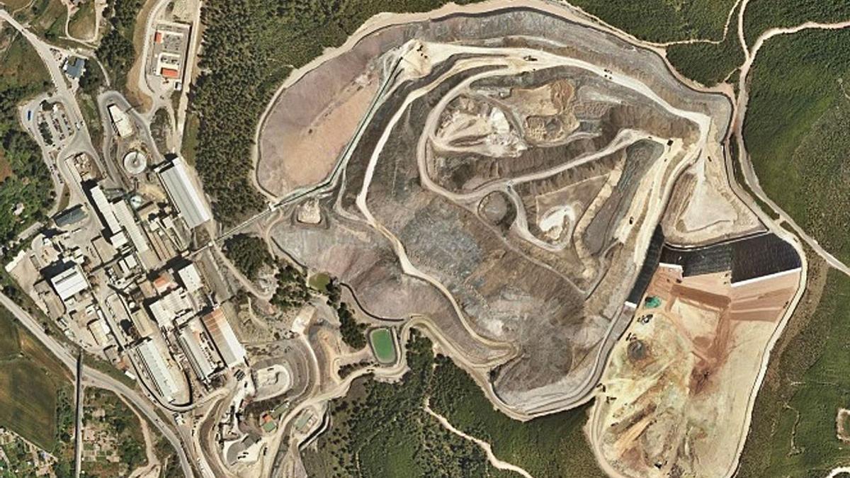 Vista aèria del runam del Fusteret de Súria   ARXIU/ICC