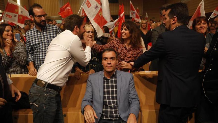 """Pedro Sánchez: """"A ganar en Zamora y a gobernar en España"""""""