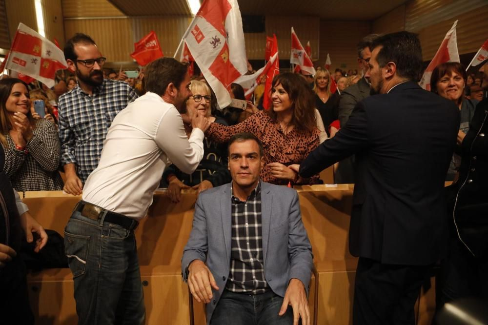 La visita de Pedro Sánchez a Zamora, en imágenes