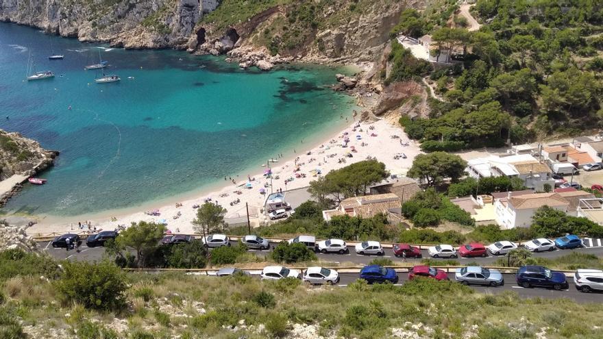 Xàbia también cerrará sus playas la noche de Sant Joan