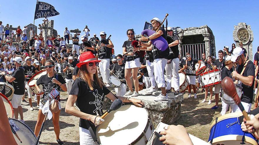 A Guarda suspende la romería y el desfile de Bandas Marineras de la Fiesta del Monte