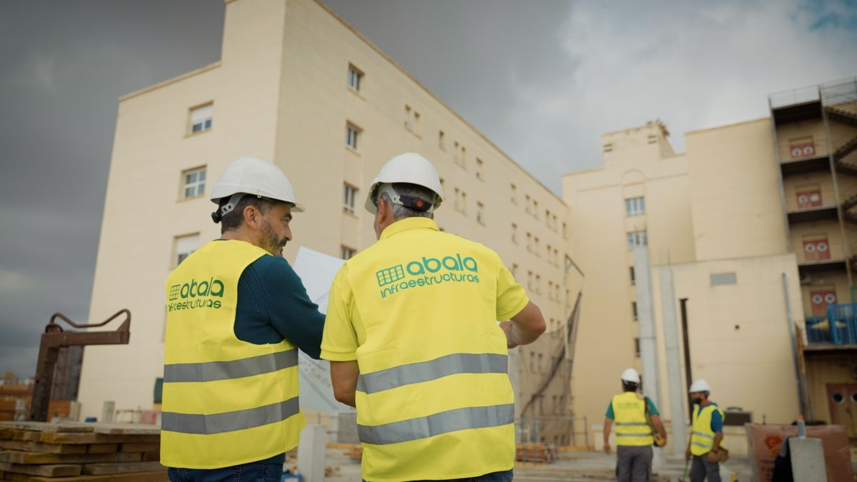 Work to expand the Emergency Room of the Alicante Hospital.