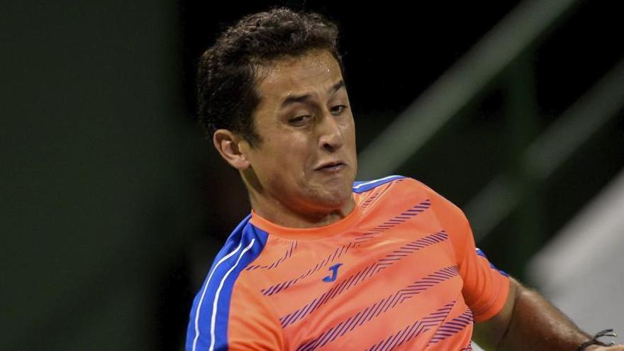 Nico Almagro, eliminado en cuartos de final