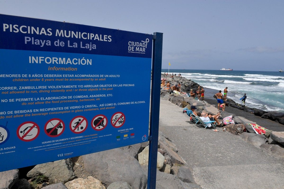 Domingo en playas de la capital grancanaria