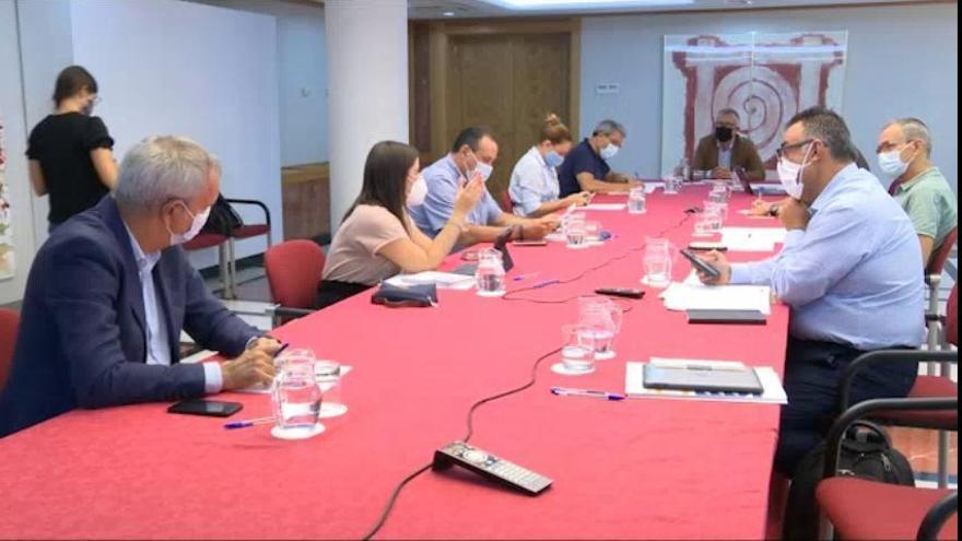 Ángel Víctor Torres preside la reunión del Comité de Emergencia Sanitaria