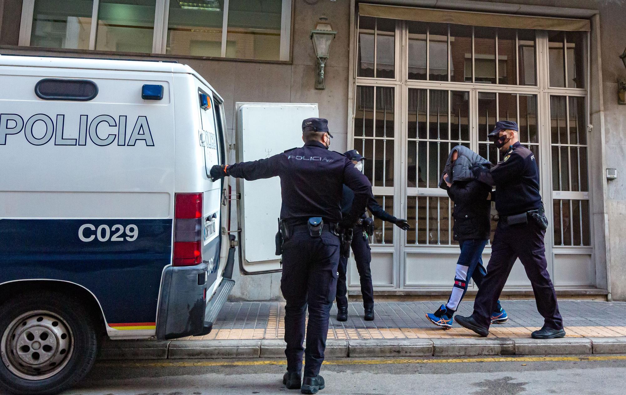 Golpe en Altea, Finestrat y Alicante a una red de blanqueo de dinero de la mafia rusa