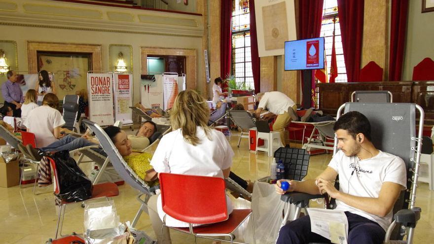 Salvar vidas con una bolsa de sangre