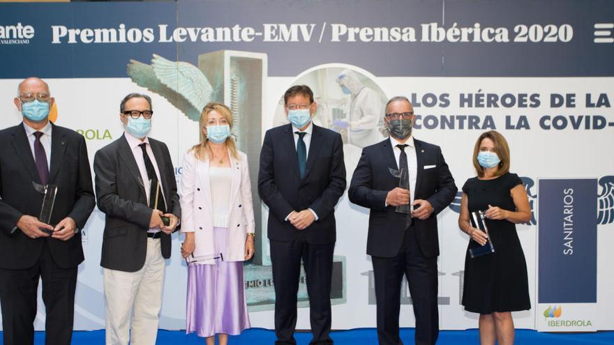 Levante-EMV reconoce la entrega del colectivo sanitario en la V edición de sus premios