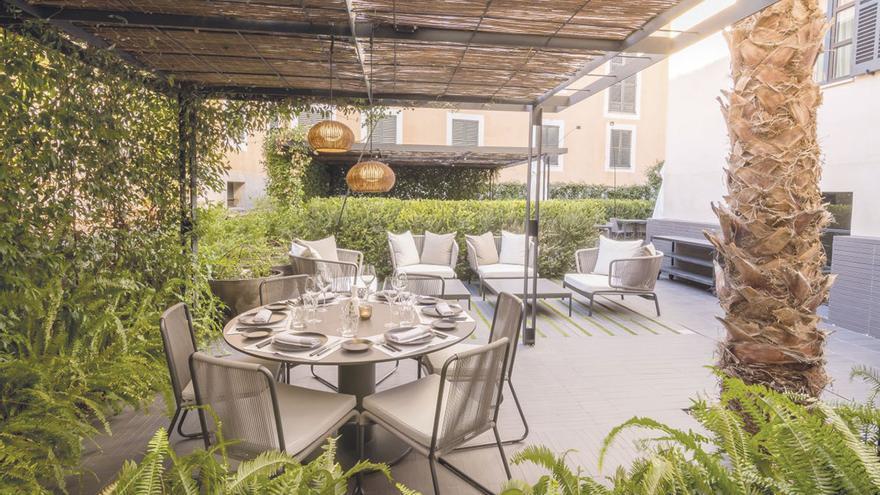 Quadrat restaurant garden, sinfonía de arroces