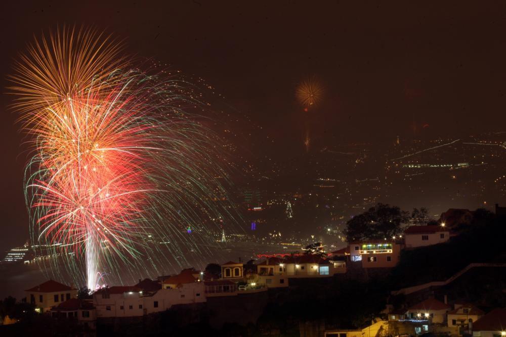 New Year's Eve celebration on Madeira Island