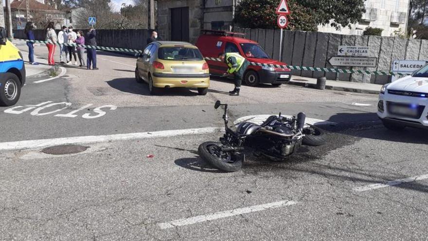 Uno de cada cinco muertos en accidente de tráfico en Galicia es conductor de moto