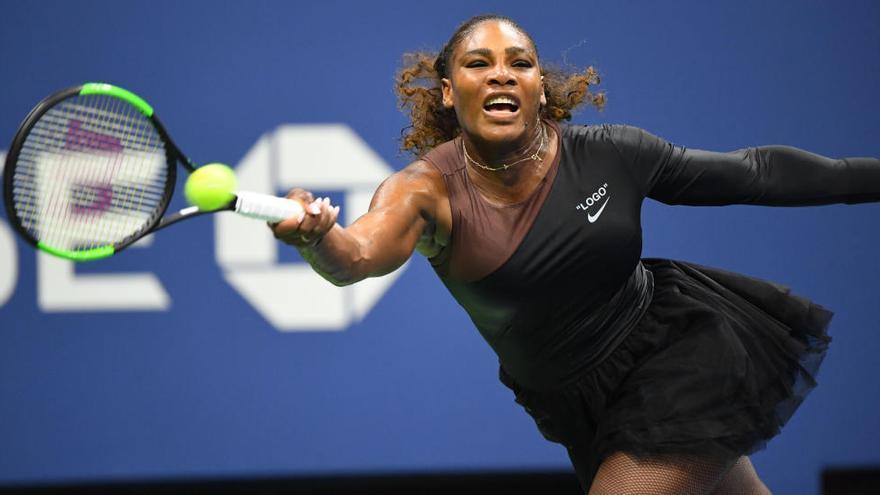 Serena Williams juga l'US Open amb un tutú després del veto al seu vestit de París