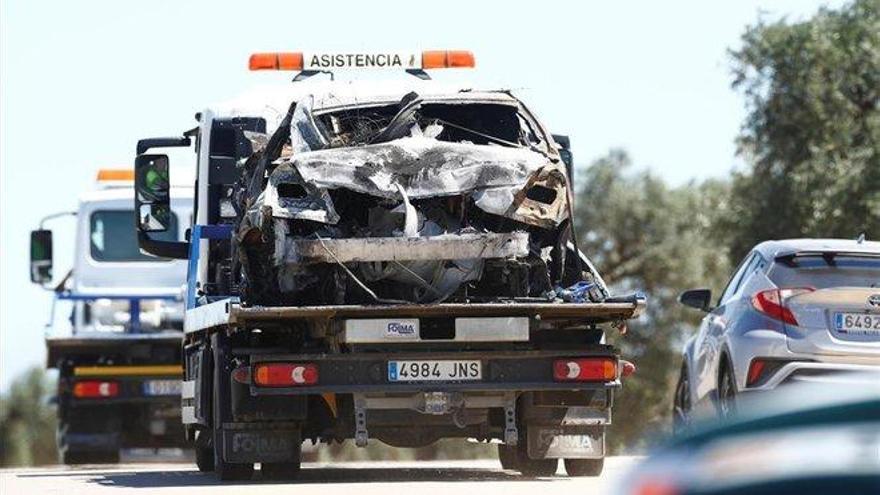 Reyes iba a más de 220 km/h cuando se estrelló con su coche