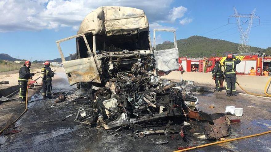 Luto entre los camioneros de Castellón